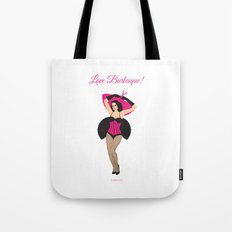 Burlesque Girl Tote Bag