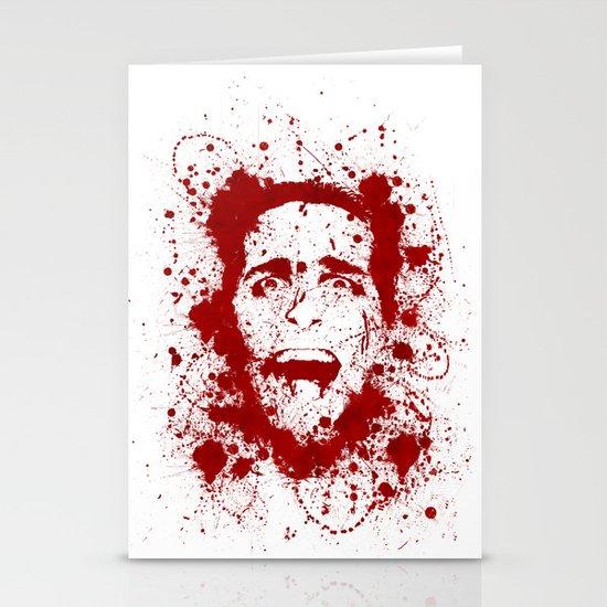 American Psycho Stationery Card