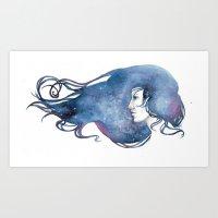 The Stuff Of Stars Art Print