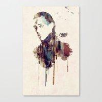 Canvas Print featuring Mischief by  Maʁϟ