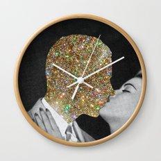 Gold Digging Wall Clock