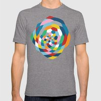 Honey Twist Mens Fitted Tee Tri-Grey SMALL