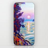 Gold Island Sunset  iPhone & iPod Skin