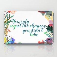 Some Inspiration iPad Case