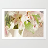 Lilies Of The Field Art Print