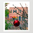 Street decoration Art Print