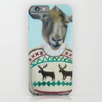 Sheep Wearing Deer Sweater  iPhone 6 Slim Case