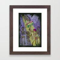 Piñata Framed Art Print