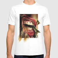 Animal Tomb  Mens Fitted Tee White SMALL