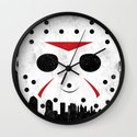 Friday The 13th Part VIII Wall Clock