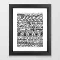 Blanket of Confusion Framed Art Print