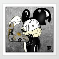 Introducing LocoCrazy Mouse Art Print