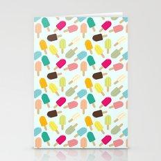 Popsicle Pattern Stationery Cards