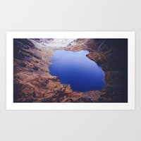 Cader Idris Lake Art Print