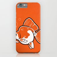iPhone & iPod Case featuring Ryukin Goldfish by C Barrett
