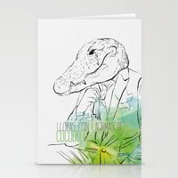 Lloras Con Lágrimas De … Stationery Cards