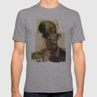 Sullgom Mens Fitted Tee Athletic Grey SMALL