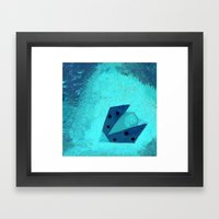 Ladybird Origami 3 Framed Art Print