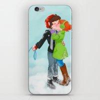 Winter Kiss iPhone & iPod Skin