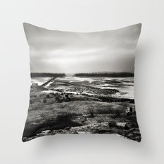 Cramond, Scotland Throw Pillow