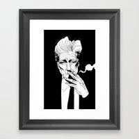 D.Lynch Framed Art Print