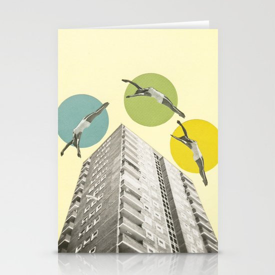 High Flyers Stationery Card