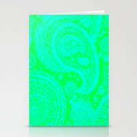 Paisley 2 Stationery Cards