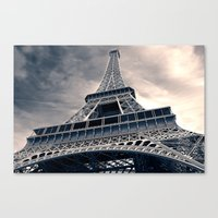 Towering Eiffel Tower Canvas Print