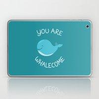 Whale, Thank You! Laptop & iPad Skin
