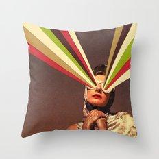 Rayguns Throw Pillow