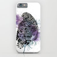 iPhone & iPod Case featuring Patterned Quail by Jessica Feral