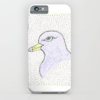 iPhone & iPod Case featuring Dotted Bird #1 by AKABETSY