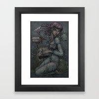 Catfish Framed Art Print