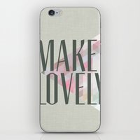 Make Lovely // Stone iPhone & iPod Skin