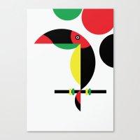 Tucan Canvas Print
