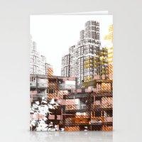 City scape I Stationery Cards
