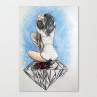 Chrianna (Chris Brown - … Canvas Print