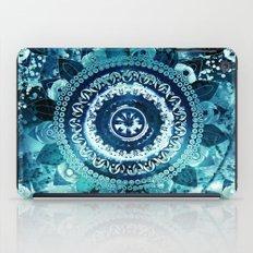 Teal Sea Mandala iPad Case