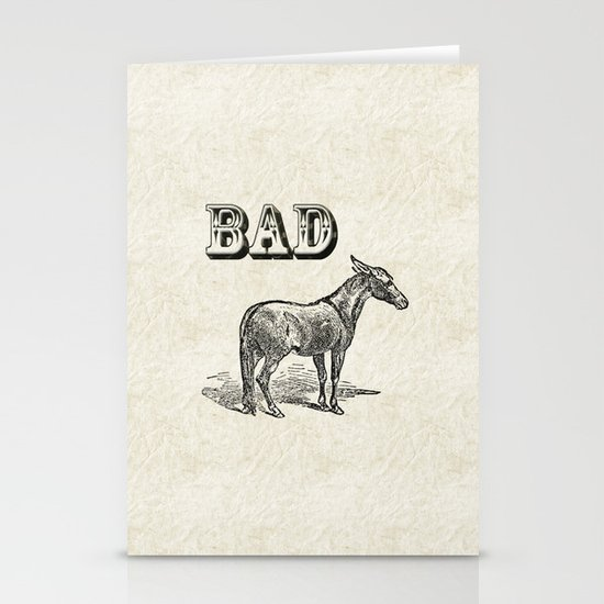 Bad Ass Stationery Card