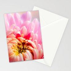 Pink Chrysanthemum Flower Stationery Cards
