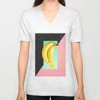 Eat Banana Unisex V-Neck