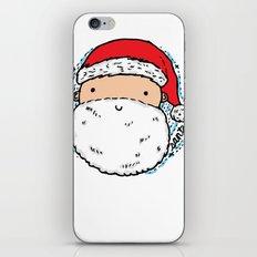 Cute Santa iPhone & iPod Skin