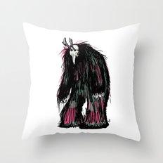 Yeti Beast Throw Pillow