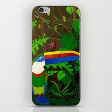 Il Tucano Pensieroso (The Thoughtful Toucan) iPhone & iPod Skin