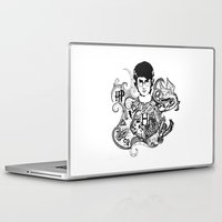 harry potter Laptop & iPad Skins featuring Harry Potter by Ink Tales