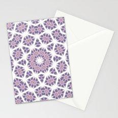 Mandala Star Stationery Cards