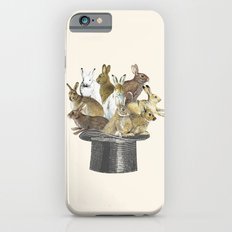 Rabbits in the hat iPhone 6 Slim Case