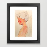 Little dreamer Framed Art Print