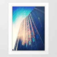 City Skies Art Print