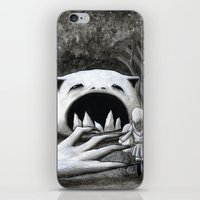 Monster in the Woods iPhone & iPod Skin